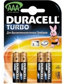 Элемент питания 286 DURACELL TURBO LR03 (4/40)